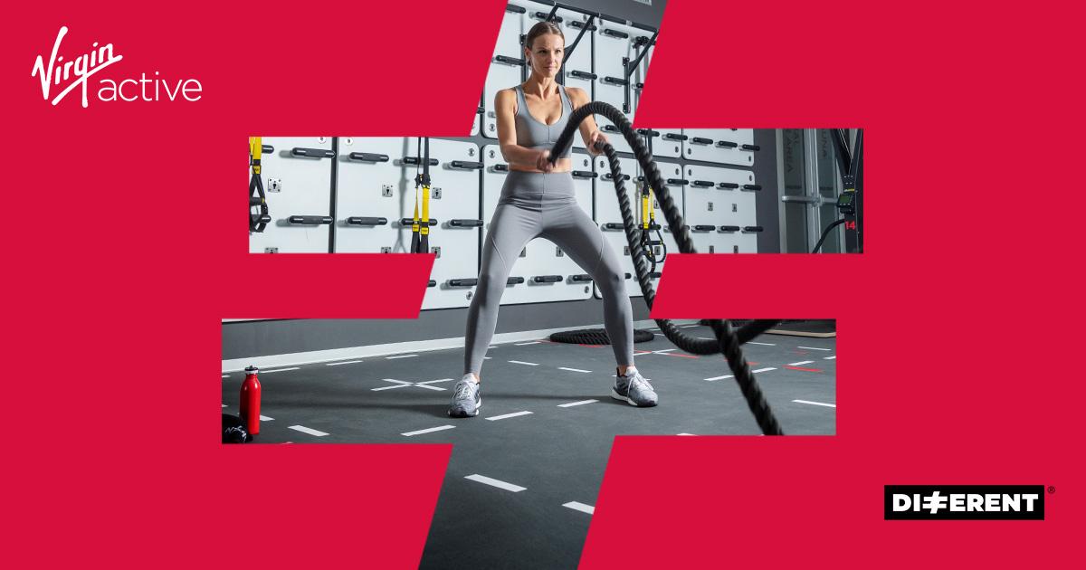 Virgin Active apre 160 mila Fitness Club insieme a Different, con una campagna digital, sui social e in TV